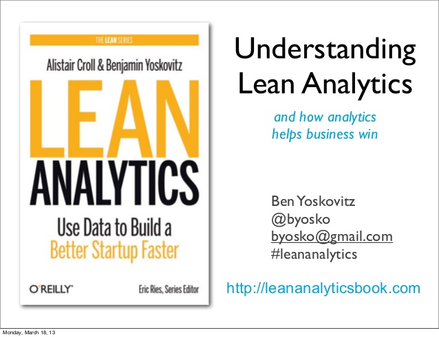 lean analytics and the one metric that matters shows how marketing analytics helps growth hackers win