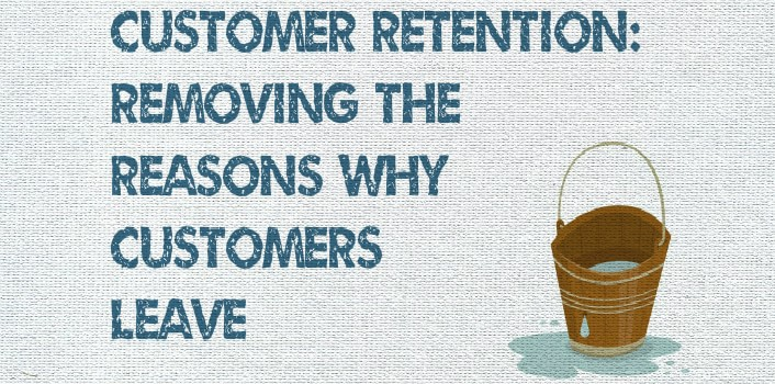 Customer Retention Thinking has a goal to remove as many Reasons for Customers to Leave.