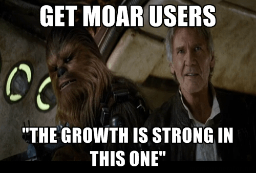 500 Distro Best Growth Tips Star Wars The Force Awakens Quotes Han Solo and Chewie Chewbacca The growth force is strong in this one.