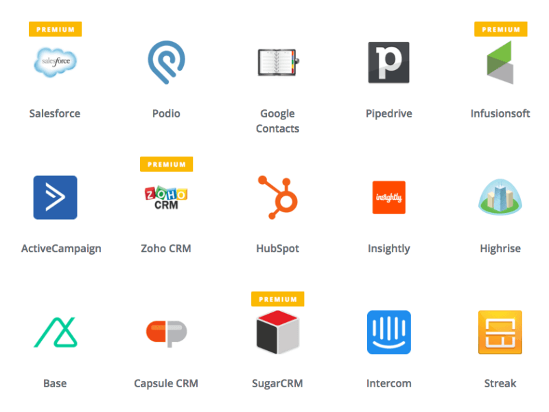 CRM tools you could be using via Zapier and popcorn metrics