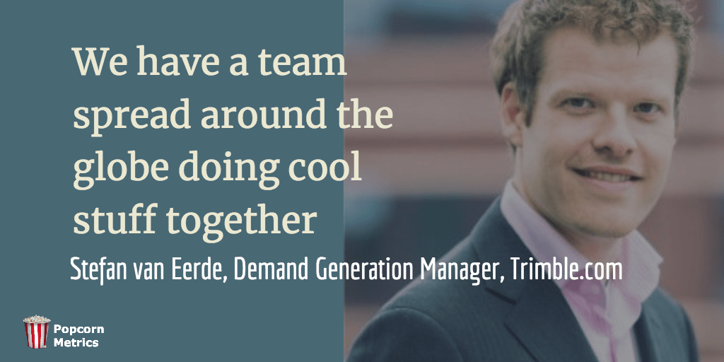 Stefan van Eerde (Demand Generation Manager) at Trimble.com